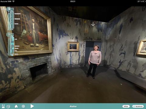 Visite guidée 360° de l'exposition Bohèmes Grand Palais Paris.