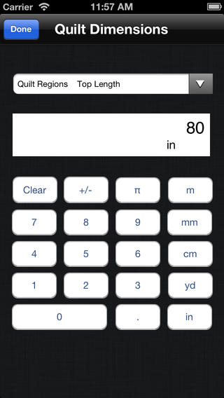 iQuilt iPhone Screenshot 2