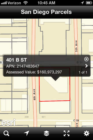 【免費工具App】San Diego Parcel Map and Property Information-APP點子
