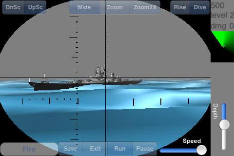 Submarine vs. Ships Battle 3D