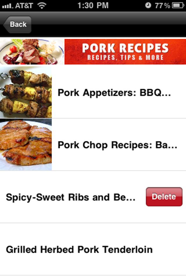 Pork Recipes!