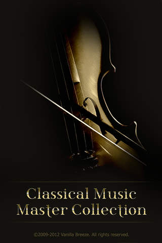 Classical Music Master Collection iPhone Screenshot 1