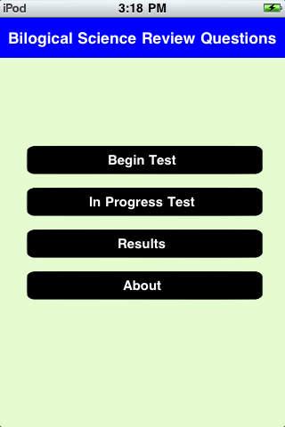 MCAT Biological Science Quiz