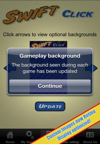 Swift Click iPhone Screenshot 5