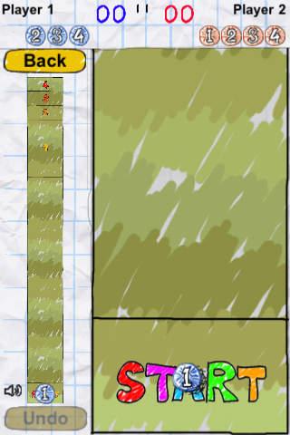 Doodle Shuffle Board Lite iPhone Screenshot 3