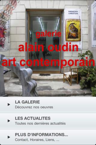 Alain Oudin Art Contemporain