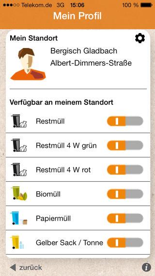 Abfall-App AWB GL