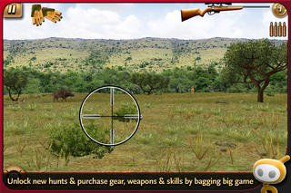 Screenshots of Deer Hunter: African Safari for iPhone