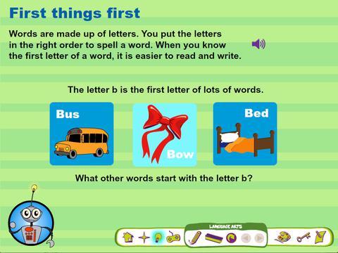 Beginning Letters Match