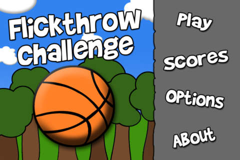 Flickthrow Challenge Free - A Fun Freethrow Basketball Game