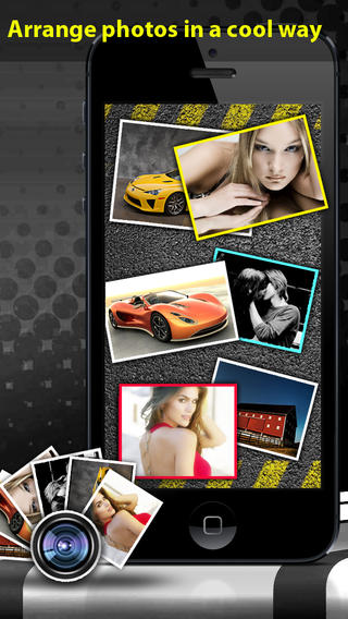 Photo Collage Scrapbook:  PicFrame Creator & Picture Editor