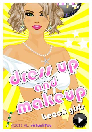 Dress Up and Makeup: Beach Girls