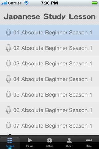 Learn Japanese-Absolute Beginner Season 1