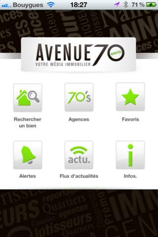 Avenue 70, média des indépendants de l'immobilier à Nantes