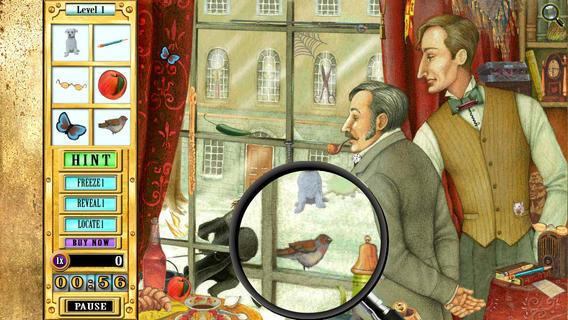 Hidden Object Game Jr - Sherlock Holmes: The Emerald Crown