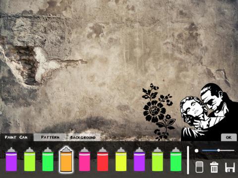 Wall Graffiti for iPad