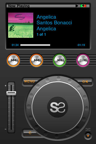 DJ iPhone Screenshot 1