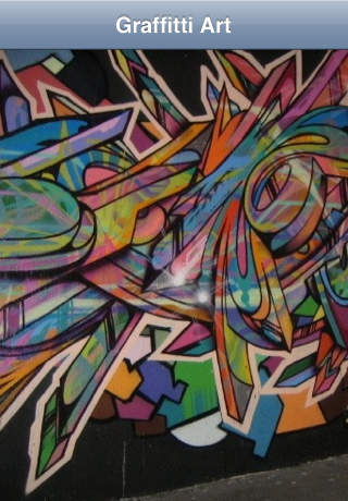 ART-GRAFFITTI STYLE – Portraits Abstracts and Geometrical Images in Dazzling Colors