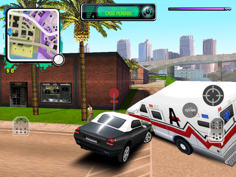 Gangstar: West Coast Hustle HD iPad Screenshot 5