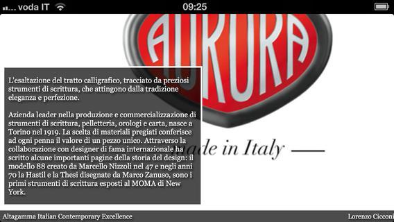 Altagamma Italian Excellence