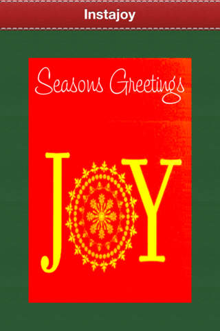 Instajoy ~ FREE Gorgeous Holiday Greetings