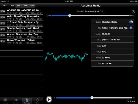 Radio Iran iPad Screenshot 2