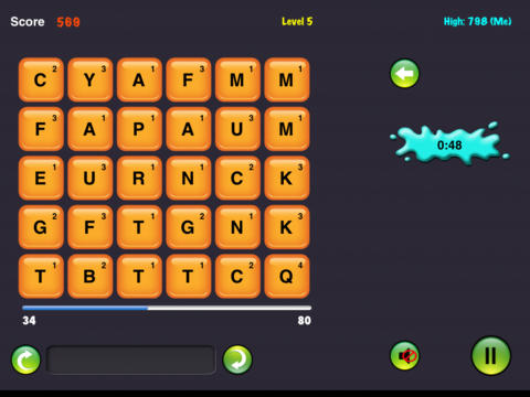 Word Score iPad Screenshot 4