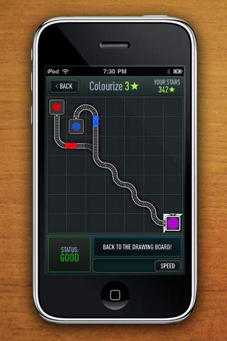 Screenshots of Trainyard Express for iPhone