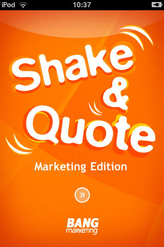 Shake&Quote - Marketing Edition