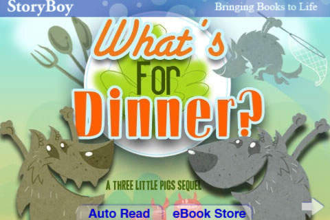 What's for Dinner A 3 Little Pigs Sequel by StoryBoy