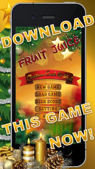 Fruit Juice Christmas Crush Rush FREE