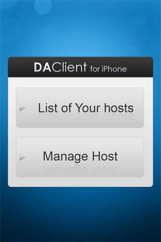 DA Client for iPhone