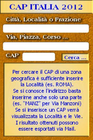 Cap Italia 2012