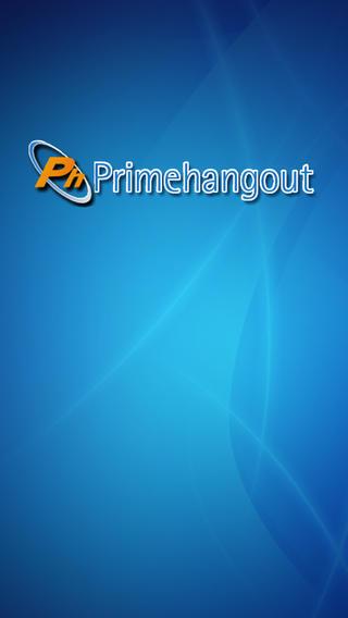 PrimeHangout iPhone Screenshot 1