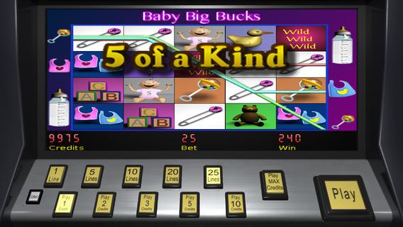 【免費遊戲App】Baby Big Bucks Slots-APP點子