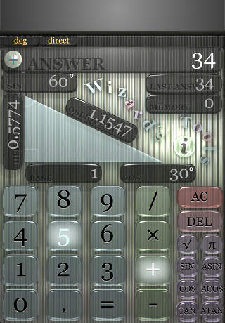 TrigonCalc iPhone Screenshot 1