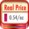 Real Price ~ compare unit prices by gearbizz icon