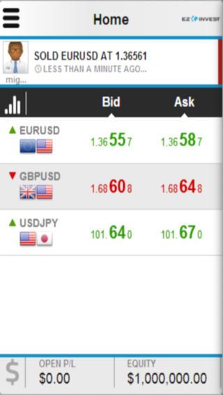 EZInvest Mobile Trader