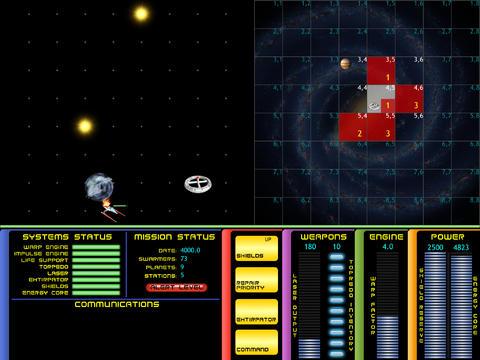Galaxy Trek for iPad iPad Screenshot 1