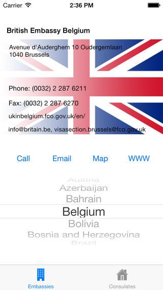 UK Embassies Consulates