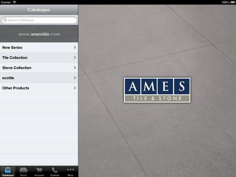 Ames Mobile iPad Screenshot 1