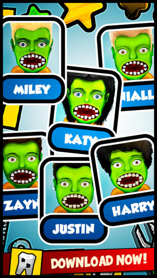 Celebrity Zombie Dentist and Little Doctor: Fun nose and eye monster popstar hospital kids games for
