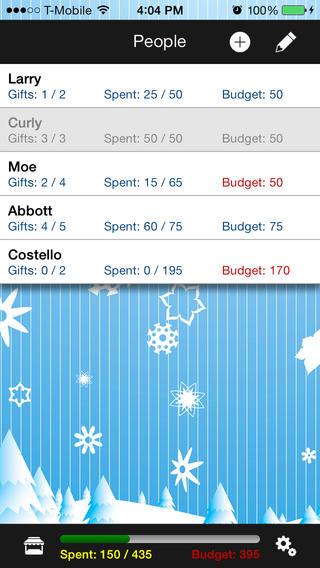 Gift List - Holiday Christmas List