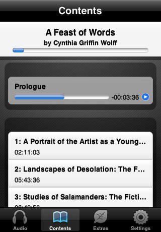 A Feast of Words (by Cynthia Griffin Wolff)