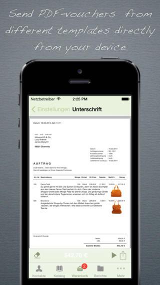 Sales Client Invoice
