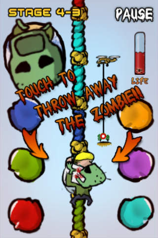 Escape from the Zombie Island screen