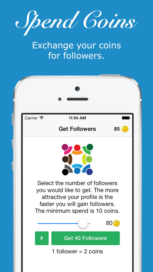 Get Followers  Screenshot