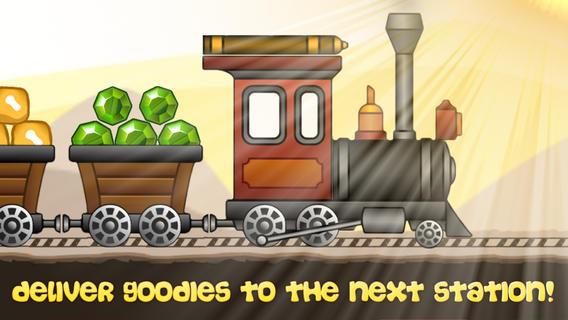 Train and Rails - Funny Steam Engine Simulator