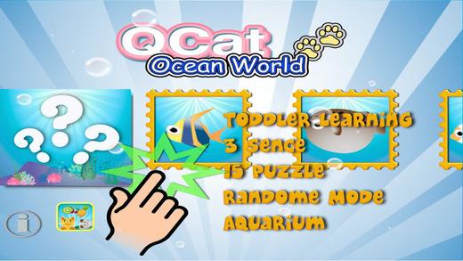 QCat - 幼儿海洋世界互动拼图