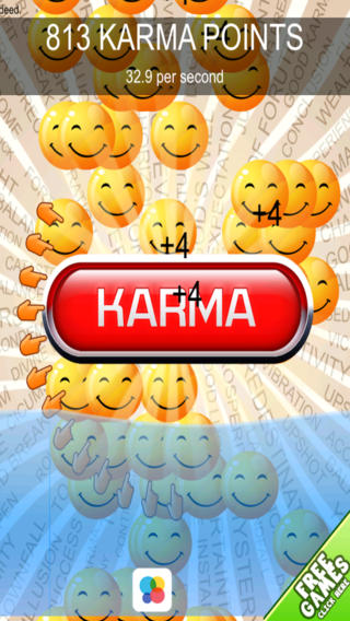 Good Karma Clicker Dash - Fun Addicting Collecting Challenge